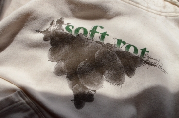 2-color Plastisol Print on Anvil Sustainable Hoodie - Special two-of-a-kind going-away present for a dear friend.